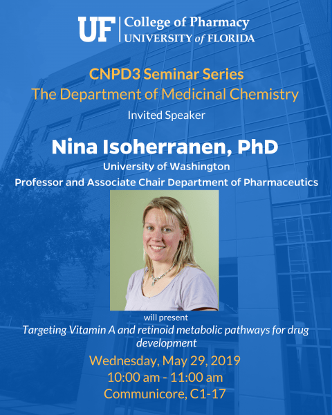 Seminar Announcement_ Med Chem, Nina