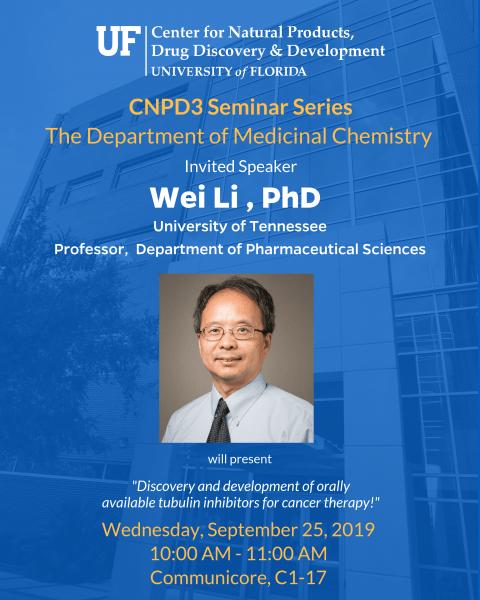 CNPD3 Seminar Wei Li